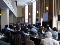 Nearly 100 attendees took part in Architects' Forum 2013.