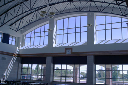 Chilton High School, in Chilton, Wis., is an example of how one school is taking advantage of natural light. Photo credit: Energy Center of Wisconsin