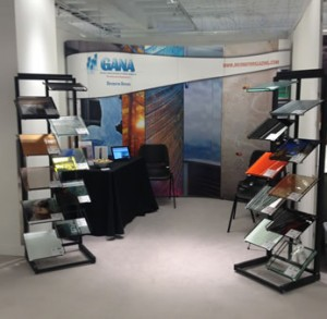 Groups such as the Glass Association of North America are also taking part in NeoCon, showcasing the many options in decorative glass.
