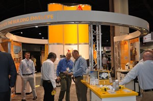 Sika was among the AIA Show exhibitors offering products for the building envelope.